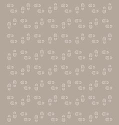 shoe footprints background vector image