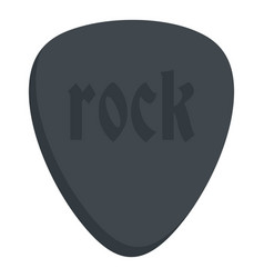 Rock stone icon isolated vector