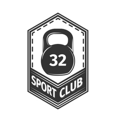 Logo for sport athletic club vector