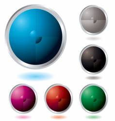 button divide vector image vector image