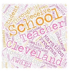 Cleveland schools aim for healthy students and vector