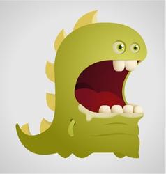 Cute dinosaur vector