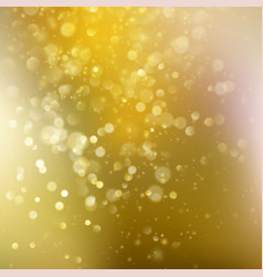 Gold background with defocused lights eps 10 vector