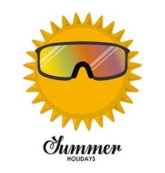 Summer Glasses design vector image