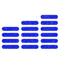 Coin columns grunge icon vector