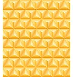 Tripartite golden pyramid seamless texture vector image