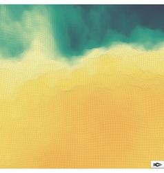 Abstract hi-tech background mosaic vector