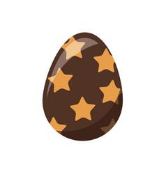 easter decorative egg ornament element design vector image