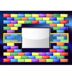 Retro gaming frame vector image vector image