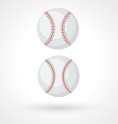 Baseball ball vector image
