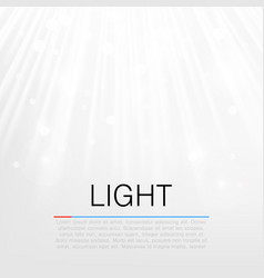 Lens flare light background concept vector