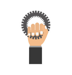 Bike gear icon vector