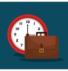 Time management graphic vector image