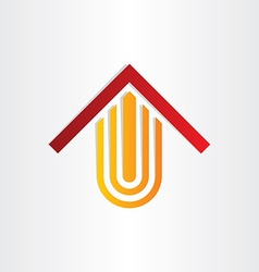 book house shop library symbol vector image