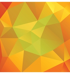 Abstract Autumn Colored Triangles vector image vector image