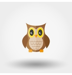 Owl Stuffed toy vector image