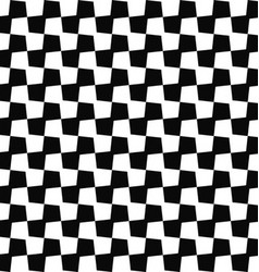Seamless black white geometric pattern background vector image vector image