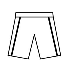 shrot team uniform icon vector image vector image