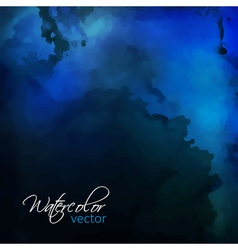 Watercolor Painting Background vector image vector image
