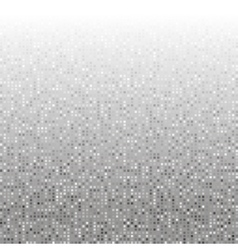 Abstract grey creative pixel technology background vector