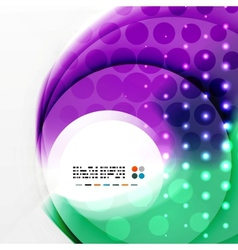 Radial colorful futuristic background vector