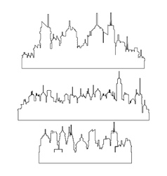 City skyline design vector