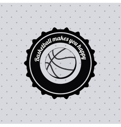 Basketball league design vector