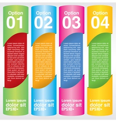 Abstract colorful banner EPS10 vector image vector image
