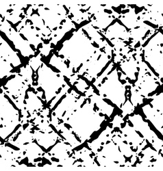 Black and white ink seamless pattern vector
