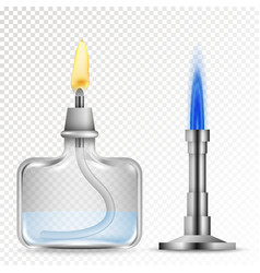 Chemical equipment burners vector