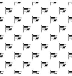 Flag lgbt pattern vector