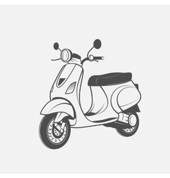 Scooter image vector image