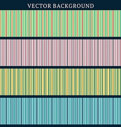 Set of Seamless Backgrounds Stripped Background in vector image