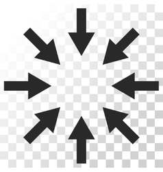 Compact arrows icon vector