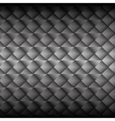 Metallic panel background vector