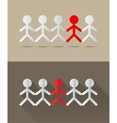 Human together concept vector