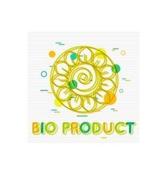 Bio product concept bio product banner bio vector