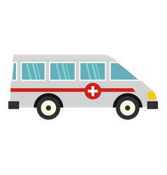 Ambulance car icon isolated vector