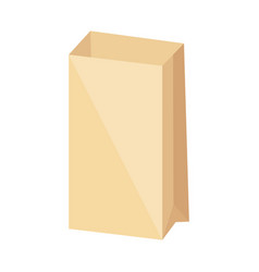 paper bag icon vector image