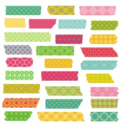 Set of Ribbons and Stickers vector image