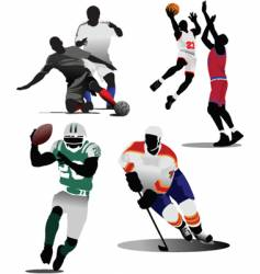 sports game vector image vector image