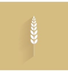Delicious wheat icon vector