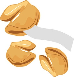 Fortune cookies vector