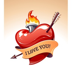 Heart Art vector image