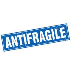 Antifragile square stamp vector