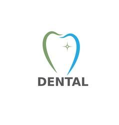 dental care design template vector image vector image