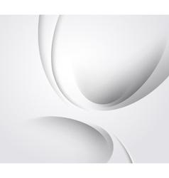 White elegant business background vector