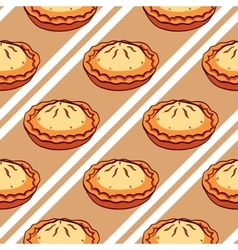 Pies seamless pattern vector