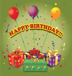 Happy-birthday vector