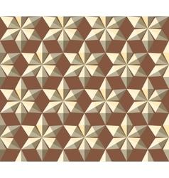 Seamless christmas pattern gold crystal shining vector